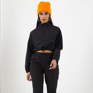 Tops - Black set pants and jacket !!